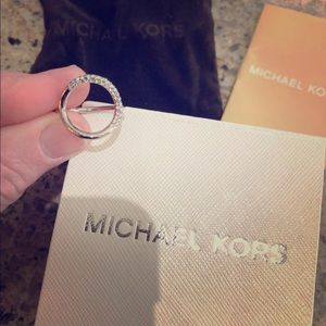 New Michael Kors ring. Size 6.
